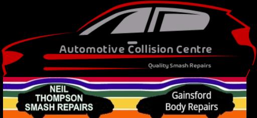 Automotive Collision Centre Smash Repair Logo